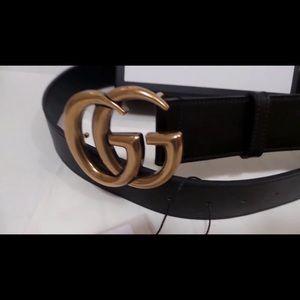 NO BOX Gucci GG Logo Belt 90cm